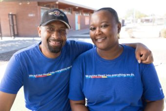 Southwest Resilient Communities employee volunteering