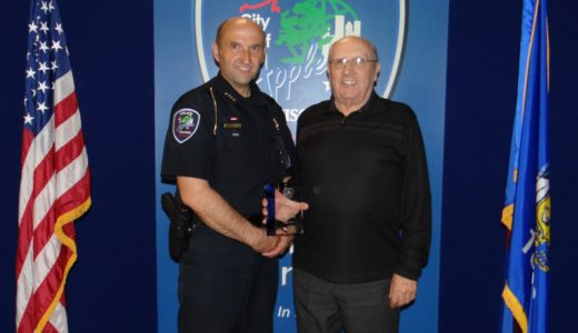 Randy Thomas Daily Point of Light Award Honoree 6521
