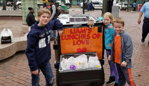 Liam Hannon Daily Point of Light Award Honoree