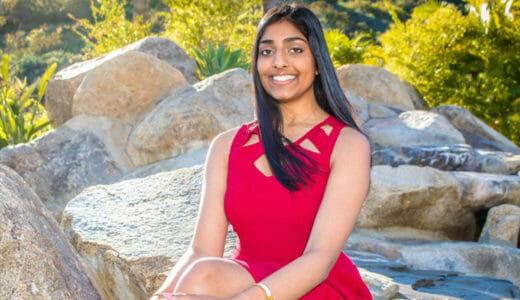Sarina Krishnan Daily Point of Light Award Honoree