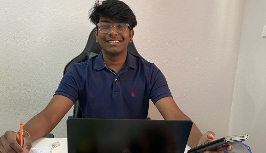 Suraj Puvvadi Daily Point of Light Award Honoree